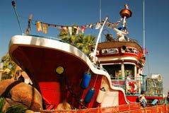 Wasser-Boots-Spielplatz Stockbilder