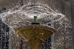 Wasser-Brunnen Lizenzfreie Stockfotografie