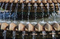 Wasser-Brunnen in Charleston, Sc Stockfoto