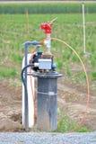 Wasser-Brunnen und Werkzeuge Stockbilder