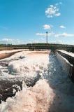 Wasser, das Station aufbereitet Lizenzfreies Stockbild