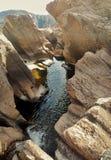 Wasser in den Felsen Lizenzfreies Stockbild