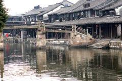 Wasser-Dorf Xitang Stockfotos