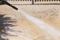 Wasser-Druck Stockfotos