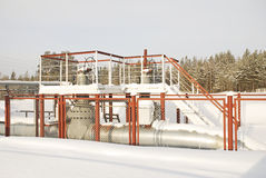 Wasser-Druck Hauptriegel eines Hochdrucks Lizenzfreies Stockfoto