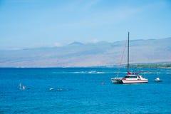 Wasser-Erholung Mauna Lani Bay Hawaii Lizenzfreie Stockfotografie
