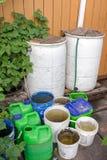 Wasser-Ernten lizenzfreies stockfoto