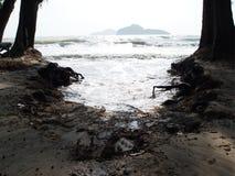 Wasser-Erosion Stockfotografie