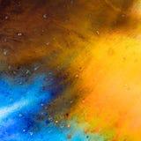 Wasser färbt Beschaffenheiten stockfotografie