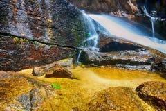 Wasser-Fall-Landschaft Lizenzfreies Stockfoto