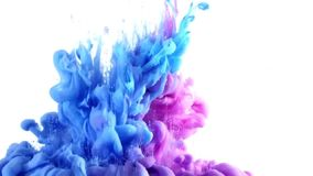 Wasser-Farbe stock video
