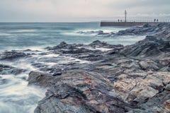 Wasser-Felsen Lizenzfreies Stockbild