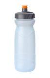 Wasser-Flasche getrennt mit Ausschnittspfad Stockfotografie