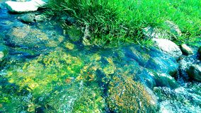 Wasser fließt Lizenzfreie Stockbilder