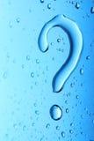 Wasser-Frage Stockfotos