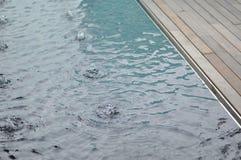 Wasser-Funktions-Rand Lizenzfreies Stockbild