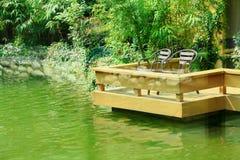 Wasser-Garten Lizenzfreies Stockfoto