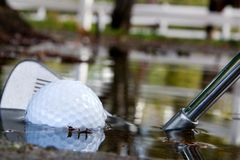 Wasser-Gefahr 2 Lizenzfreie Stockfotos
