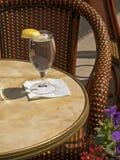 Wasser-Glas lizenzfreie stockfotografie