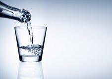 Wasser-Glas Lizenzfreies Stockbild
