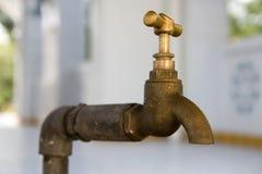 Wasser-Hahn Lizenzfreies Stockbild