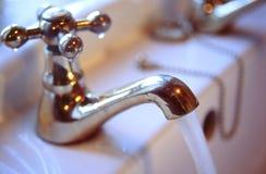 Wasser-Hahn Lizenzfreie Stockfotografie