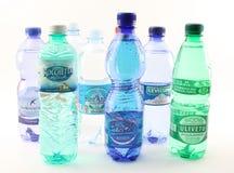 Wasser hergestellt in Italien Stockfotografie