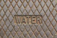 Wasser-Hilfsprogramme stockfoto
