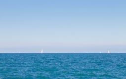 Wasser, Himmel und Wolken Lizenzfreies Stockbild