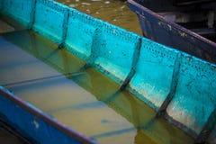 Wasser im Boot Lizenzfreies Stockbild
