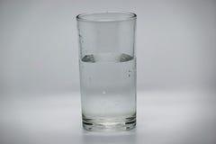 Wasser im Glas Lizenzfreies Stockbild