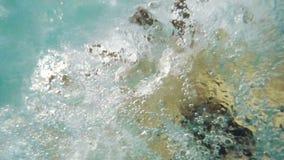 Wasser im Jacuzzi stock video