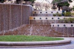 Wasser im Park stockfotos