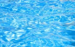 Wasser im Pool Lizenzfreie Stockfotos