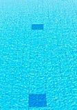 Wasser im Pool stockbilder
