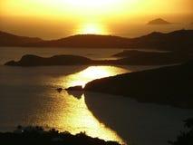 Wasser-Insel Lizenzfreies Stockbild