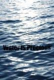 Wasser ist kostbar Lizenzfreies Stockbild