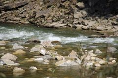 Wasser ist Leben ohne, kann welches nicht überleben lizenzfreie stockfotografie