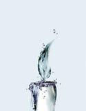 Wasser-Kerze stockfoto