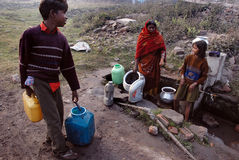 Wasser-Krise Stockbilder