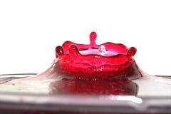 Wasser-Krone Stockfotografie