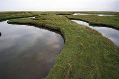 Wasser-Land Stockfotos