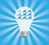 Wasser-Leistung lizenzfreie abbildung