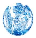 Wasser-Luftblase stockfotografie