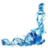 Wasser-Luftblase stockbild