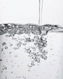 Wasser-Luftblasen Lizenzfreies Stockfoto