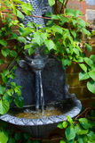 Wasser-Merkmal stockfoto