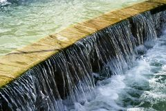 Wasser-Merkmal lizenzfreies stockbild