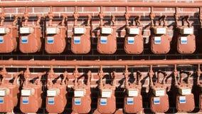 Wasser-Messinstrumente Lizenzfreie Stockbilder