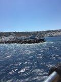 Wasser in Mykonos Stockfoto